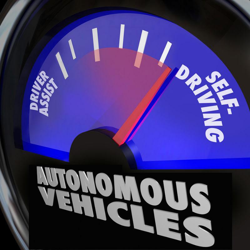 10.Driverless cars