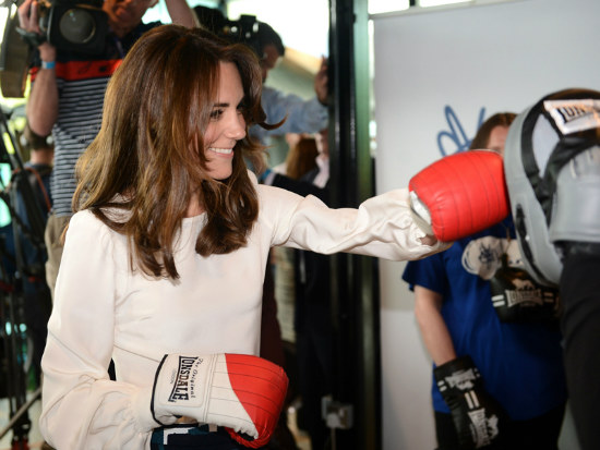 13_Kate Middleton packs a punch for mental health charity